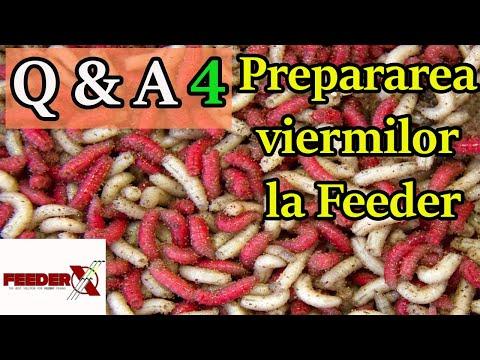 mâncați produse de la viermi la adulți