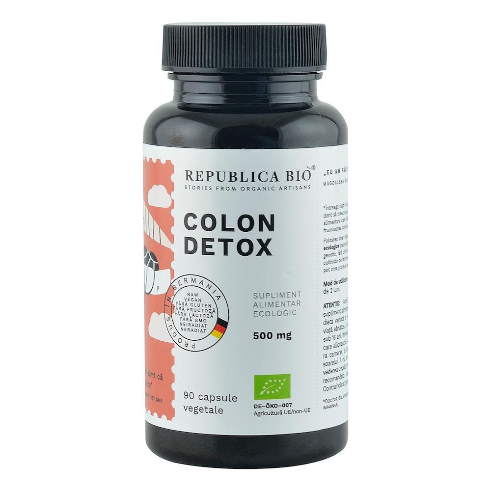 Detoxifiere colon calivita - Puteti evalua