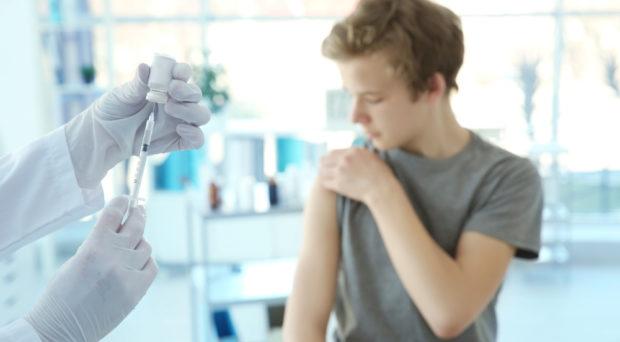 Human papillomavirus vaccine for males