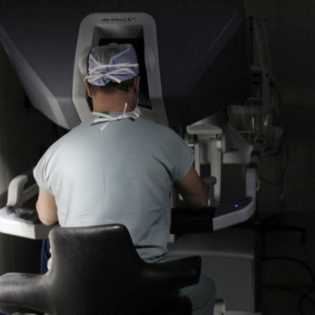 Punctul alb pe colul uterin - Carcinomul