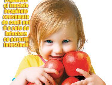 invazie de helmint în tratamentul copiilor)