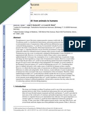 Dozare anticorpi - Testarea pentru toxoplasmoza