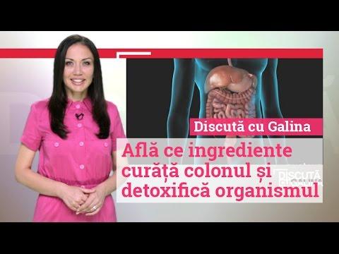 curățarea colonului detoxifierea ficatului