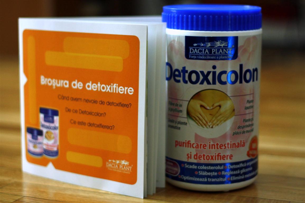 detoxifierea colonului plicuri fares