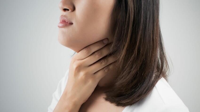 papillomavirus douleur gorge