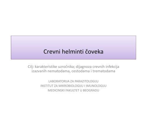 tratarea helmintilor la copii)