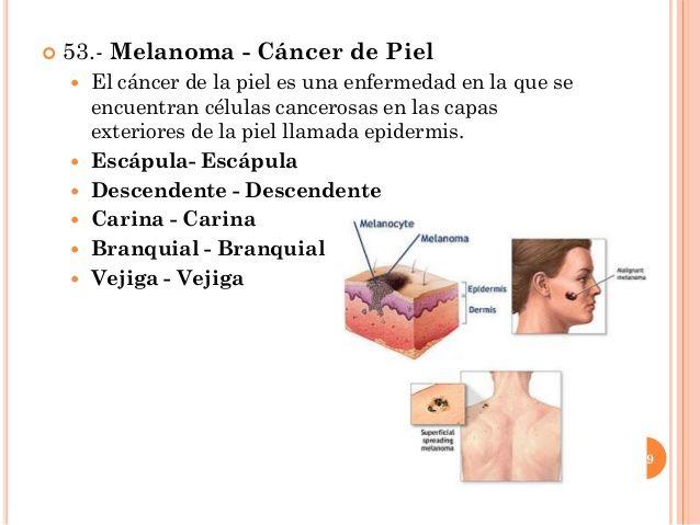 cancer que es piel