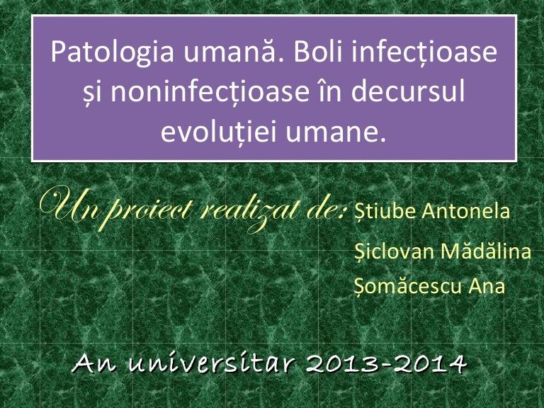 Boli provocate de paraziti