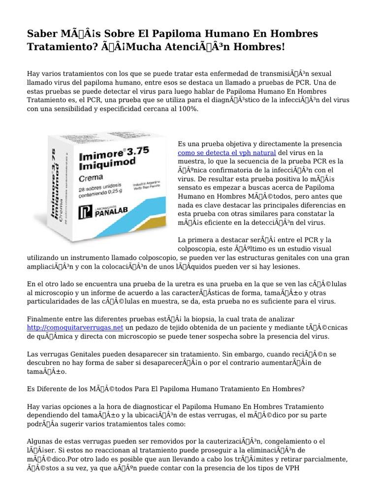 deteccion papiloma virus en hombres cancer primario peritoneal sintomas
