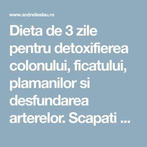 detoxifiere in 3 zile