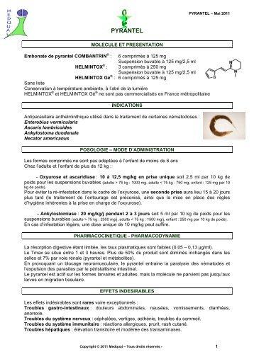 antihelmintic cu spectru larg)