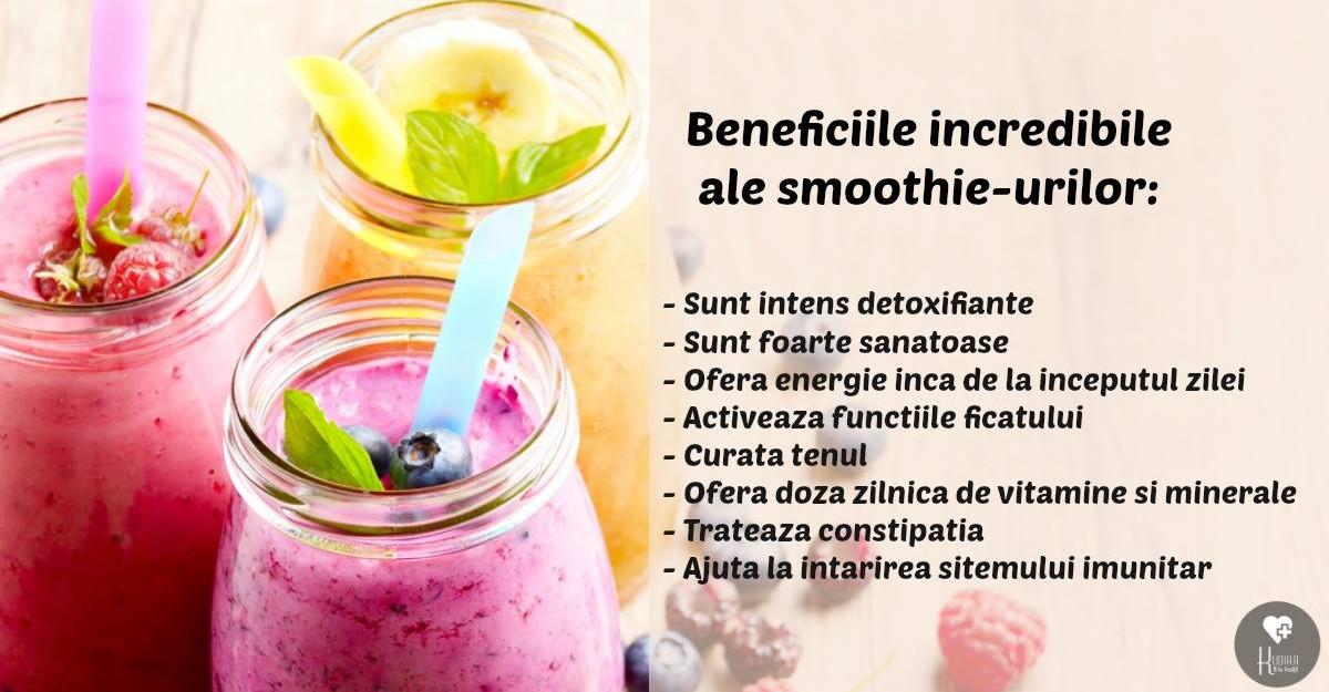 retete de smoothie pentru detoxifiere