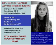 hpv vaccine side effects dangers