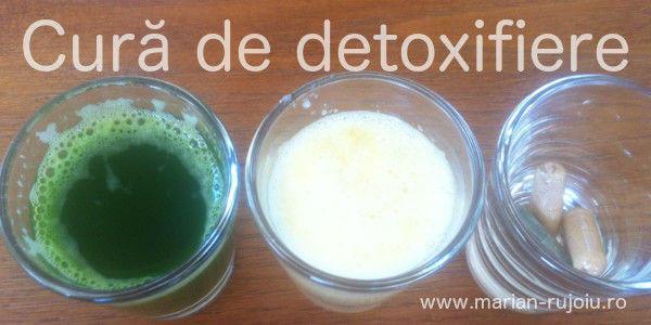 program de detoxifiere