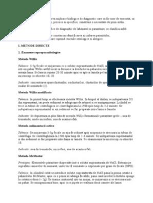 metode de concentrare a parazitului intraductal papilloma gp notebook