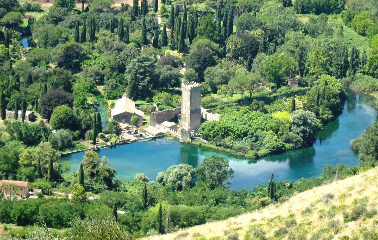 i giardini di ninfa roma